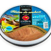 La Factoria del Mar Anchoa cantábrico Costera Aceite Vegetal de Girasol 50 filetes